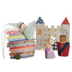The Princess & the Pea Finger Puppet Pattern