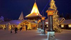 Village du Père Noël en Laponie: meilleures vidéos sur la maison du Papa...