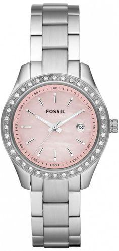 #Fossil #Watch Women's ES2999 Stella Pink Dial Watch