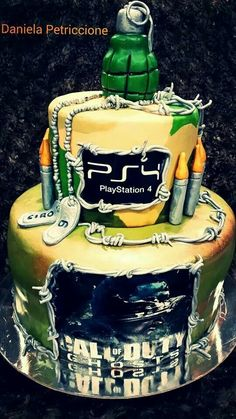 Torta call of duty