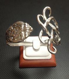 Gorham Sterling Silver Spoon / Fork Bracelet in Jewelry & Watches, Handcrafted, Artisan Jewelry, Bracelets | eBay
