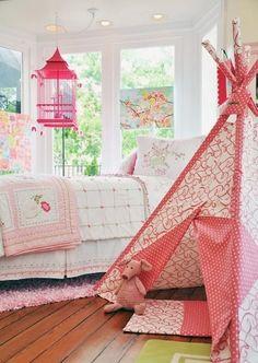 Quartos de menina ... Ideias econômicas para sua filha ter o quarto dos sonhos