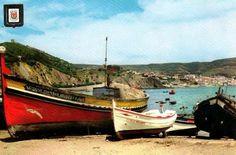 Sesimbra barca motor camarão