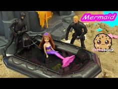 Mermaid Siren Create A Monster High Doll Add On Starter Pack CAM Playset Set Cookieswirlc - YouTube