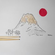 Mount Fuji. This is one of the authentic places in a futuristic Japan. #sketch #objectart #objeart #art #artwork #artist #ink #illustrator #illustration #creative #creativity #creativeart #draw #drawing #doodle #foodart #foodporn #arts_help #artoftheday #instaart #travelling #travel #contemporary #popart #graphic #graphicart #japan #tokyo #fuji #mountfuji