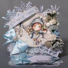 New Challenge - Marvelous Magnolia - Christmas Candle Tilda