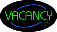 Animated Oval No Vacancy Neon Sign 17 Tall x 30 Wide x 3 Deep, is 100% Handcrafted with Real Glass Tube Neon Sign. !!! Made in USA !!!  Colors on the sign are Red, Blue and Green. Animated Oval No Vacancy Neon Sign is high impact, eye catching, real glass tube neon sign. This characteristic glow can attract customers like nothing else, virtually burning your identity into the minds of potential and future customers.