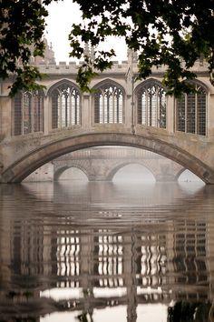 Bridge of Sighs, Cambridge,England.