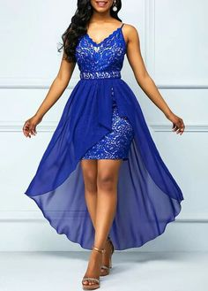 Women's Prom Dresses has never been so Awesome! Since the beginning of the year many girls were looking for our Cool guide and it is finally got released. Now It Is Time To Take Action! Short African Dresses, Latest African Fashion Dresses, Women's Fashion Dresses, Dress Outfits, Lace Dress Styles, Classy Dress, Elegant Dresses, The Dress, Prom Dresses