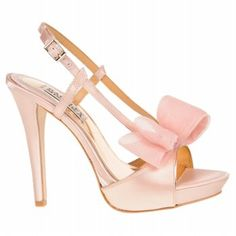 Badgley Mischka Pink Heels