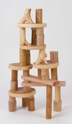 36-Piece Smooth Block Set