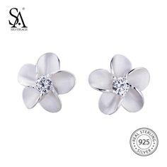 Sterling Silver Stud Earrings Trendy Sterling Silver Earrings Studs 10eb17c112f8