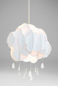 I love this easy fit cloud ceiling light shade Cloud Light Shade, Cloud Lights, Light Shades, Cloud Lampshade, Cloud Bedroom, Kids Bedroom, Kids Rooms, Bedroom Ideas, Nursery Twins