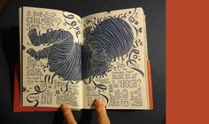 Crawford's Imaginative Book Gives Whitman's Masterpiece a New Landscape #handlettering #book #design