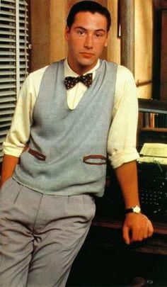 Keanu Reeves / tune in tomorrow 1990