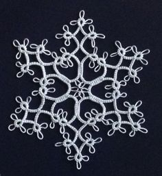 These three snowflakes are patterns I've been making occasionally for years - I love the way they look, and the consistent stitch count (3 o...