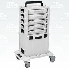 Bosch-Sortimo-L-Boxx-i-BOXX-Rack-5fach-bestueckt-Roller-L-Boxx-mini