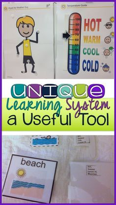 Unique Learning System: A Useful Tool for Special Ed. The Unique Learning System is a great standards-based special education curriculum. It is designed for students taking alternate assessments. It provides age-appropriate skills for preschool through h Life Skills Classroom, Autism Classroom, Classroom Ideas, Classroom Tools, Classroom Resources, Future Classroom, Unique Learning System, Life Skills Lessons, Self Contained Classroom
