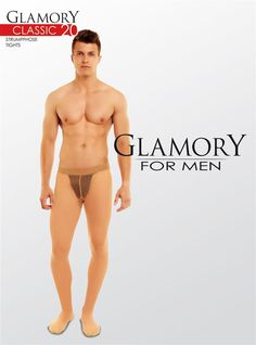 Glamory for Men Classic 20 Sheer Tights - Click Image to Close