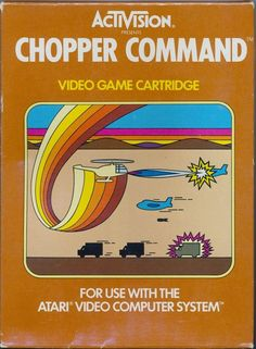 #atari 2600 Chopper Command Game Cartridge Activision Complete In Box Cib from $9.99