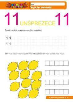Numerele de la 10-30 Archives - Manute Pricepute Diagram, Words, Double Deck Bed