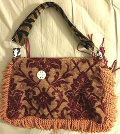 NEW-Keep-It-Gypsy-carpet-bag-LARGE-Arty-Bohemian-wearable-Art-Tapestry-vintage