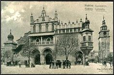 1907 CRACOW MAIN SQUARE