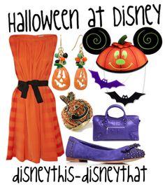 """Halloween at Disney"" - holiday  DisneyThis-DisneyThat on Tumblr"
