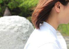 [p]風になびく髪