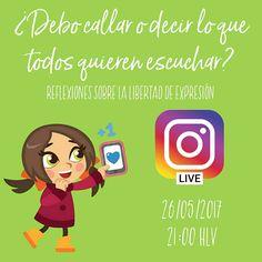 HOY SÍ! - Una vez superados los inconvenientes técnicos esta noche sí podré conversar contigo en un #InstagramLIVE sobre la #LibertadDeExpresión y sus verdaderas amenazas en #Venezuela. _ TE ESPERO! Mira que cuento contigo para que confrontes mis opiniones y me muestres argumentos que nos lleven a construir juntos el país que soñamos. _ #misdatos #comunicación #comunicaciones101 #política #RedesSociales #RRSS #SocialMedia #educomunicación #NTIC #opinión #argumentos #bruja #brujareal…