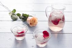 A Rose Water Recipe you can drink and use as a calming face toner! | Recipe on HelloFresh Blog