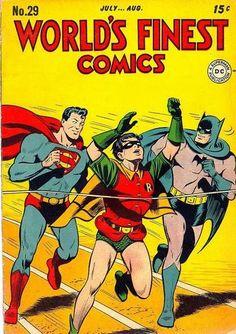 world's finest comics covers | World's Finest Vol 1 29 - DC Comics Database