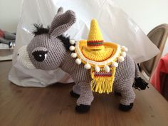 Ezel gehaakt Donkey crochet