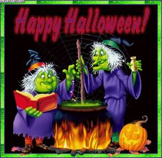 happy halloween | ... happy halloween witches graphics and myspace comments, happy halloween