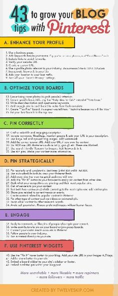 Great Pinterest tips