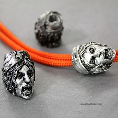 Knife Making Supplies - Best prices, selection and service. Beard Beads, Paracord Beads, Lanyard Necklace, Paracord Projects, Odd Stuff, Beaded Skull, Washers, Knifes, Pewter