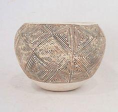 Vintage Signed Acoma Pottery Bowl Provenance Nobel Prize Winner Elinor Olstrom   eBay