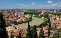 Roman ruins trump romance – just – in Verona, Italy, the home of Shakespeare's   Romeo and Juliet, says Simon Brooke.