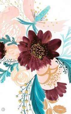 spring wallpaper floral wallpaper fashion illustration Favorite Fonts of the Month : Vol 01 - Saffron Avenue Wallpaper Spring, Wallpaper Flower, Frühling Wallpaper, Wallpaper Backgrounds, Phone Backgrounds, Painting Wallpaper, Nature Wallpaper, Cute Backgrounds, Cute Wallpapers