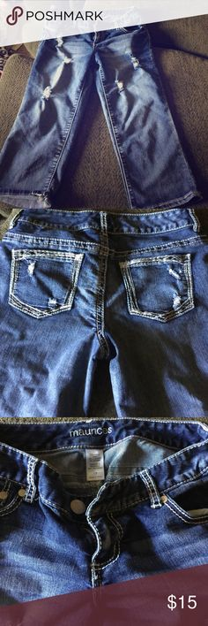 Jean capris Very comfortable jean capris! Maurices Jeans Ankle & Cropped