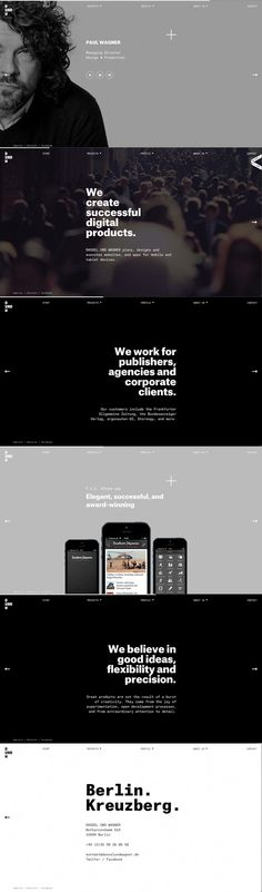 Webpage Screenshot of Designer: Dassel and Wagner | Design: UI/UX. Apps…