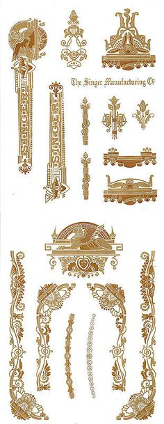 Haberdashery Shop, Antique Restoration, 2 Colours, Vintage Sewing, Flower Art, Egypt, Decals, Printable, Antiques