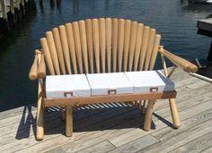For any baseball fan or man cave. Turn wooden baseball bats into DIY furniture