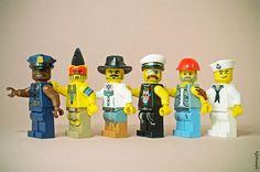 Legographie – Quand un photographe s'amuse avec ses mini-figurines LEGO | Ufunk.net