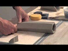 How to Make an Extruded Hexagonal Wall Pocket | DARYL BAIRD - YouTube