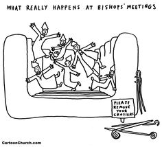 What really happens at bishops' meetings #HOB House of Bishops #Episcopal