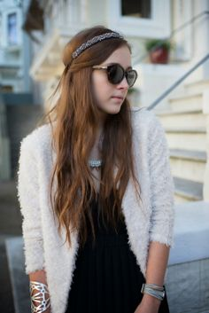 Stone Fox Style fashion blogger Bryn Newman in Ballet inspired look