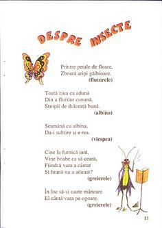 Ghicitori hazlii Montessori Toddler, Riddles, School, Insects, Rome, Puzzle