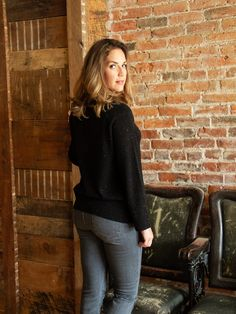 70e5417fd Chic and Timeless. Project J cashmere delivers effortless style with this  classic cashmere crewneck sweater