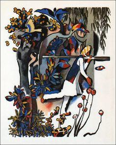 Mowgli. Illustrator N. Tseitlin, 1982.